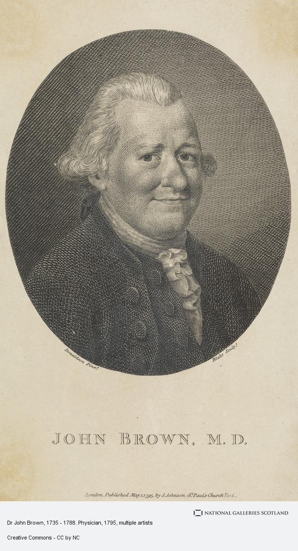 William Blake, Dr John Brown, 1735 - 1788. Physician