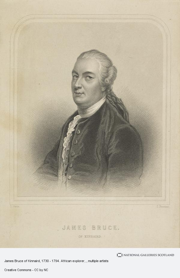 Samuel Freeman, James Bruce of Kinnaird, 1730 - 1794. African explorer