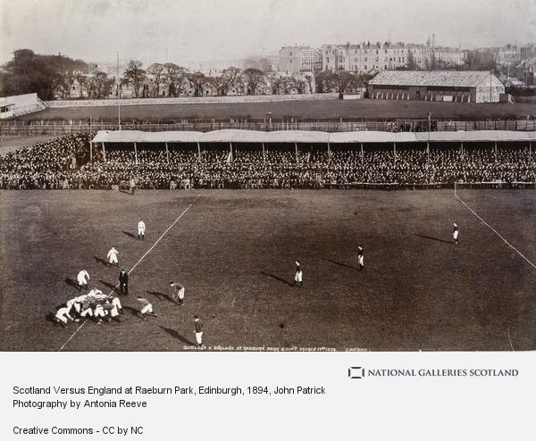 John Patrick, Scotland Versus England at Raeburn Park, Edinburgh