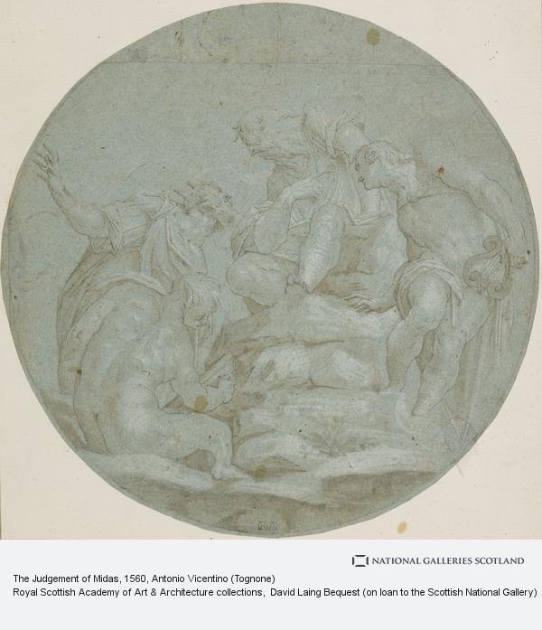 Antonio Vicentino (Tognone), The Judgement of Midas