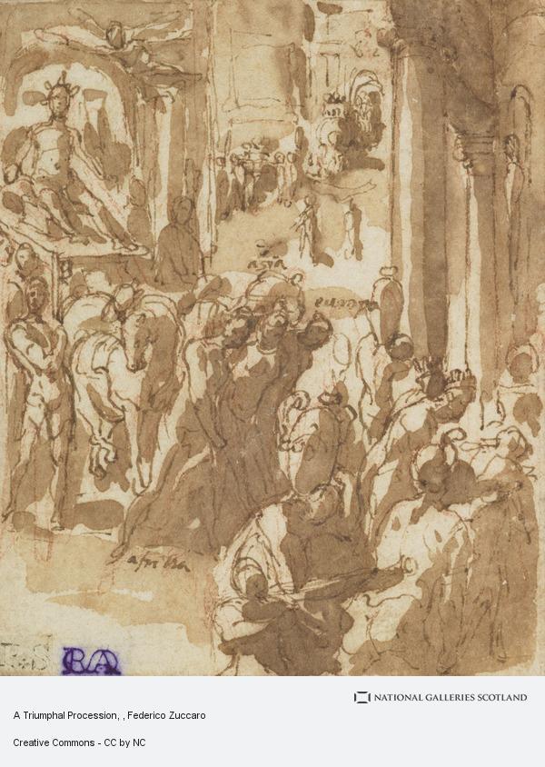 Federico Zuccaro, A Triumphal Procession