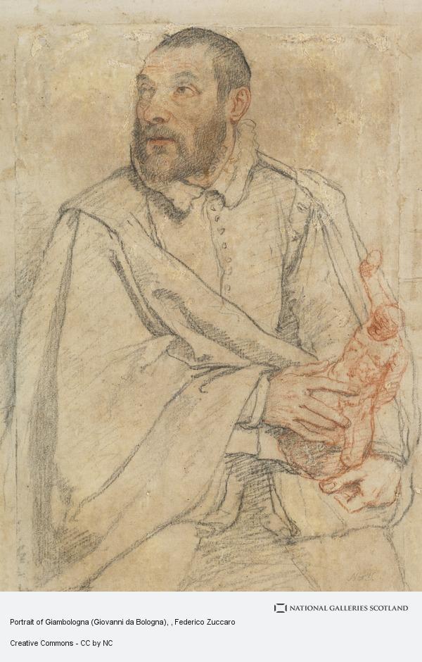 Federico Zuccaro, Portrait of Giambologna (Giovanni da Bologna)