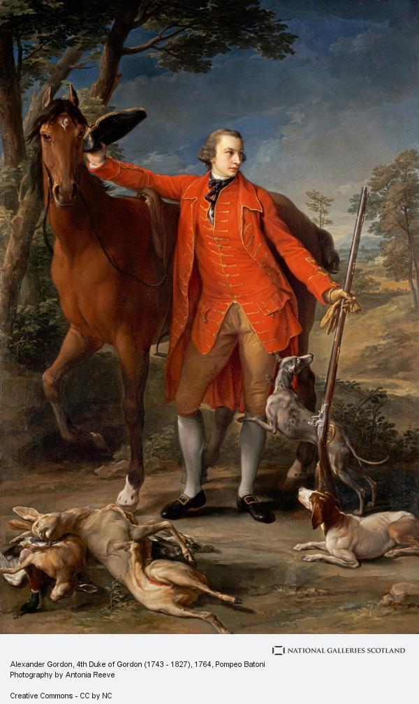 Pompeo Girolamo Batoni, Alexander Gordon, 4th Duke of Gordon (1743 - 1827)