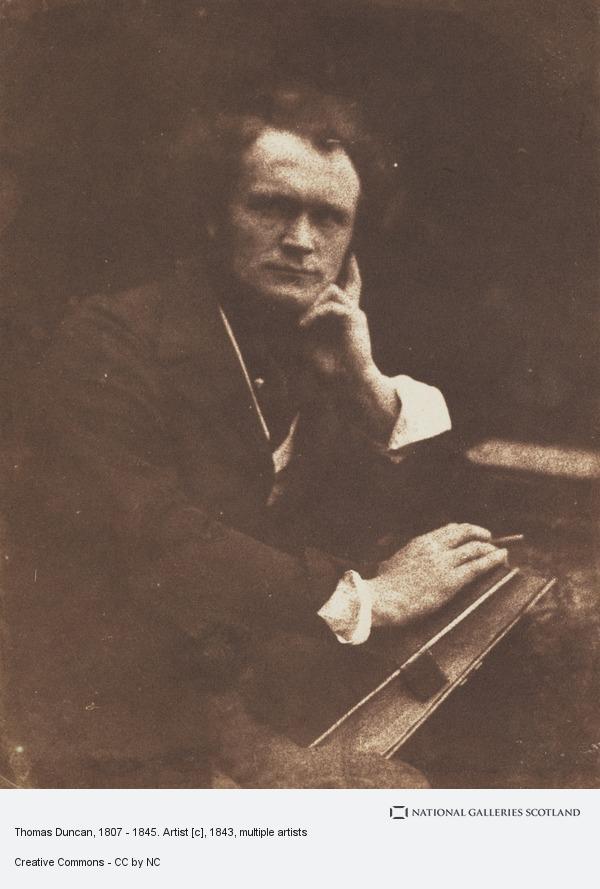 David Octavius Hill, Thomas Duncan, 1807 - 1845. Artist [c]
