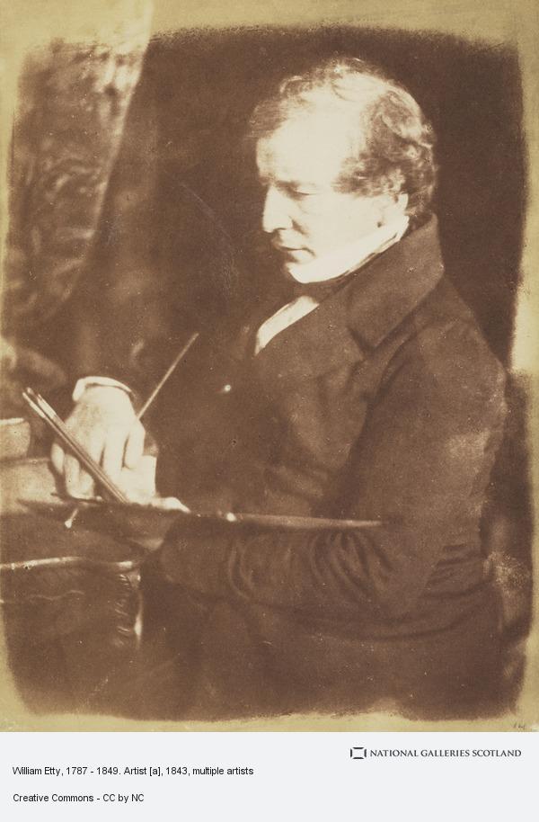 David Octavius Hill, William Etty, 1787 - 1849. Artist [a]