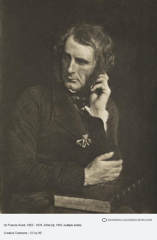 David Octavius Hill, Sir Francis Grant, 1803 - 1878. Artist [d]