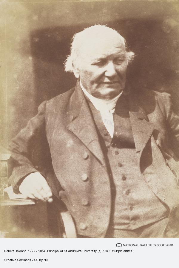 David Octavius Hill, Robert Haldane, 1772 - 1854. Principal of St Andrews University [a]