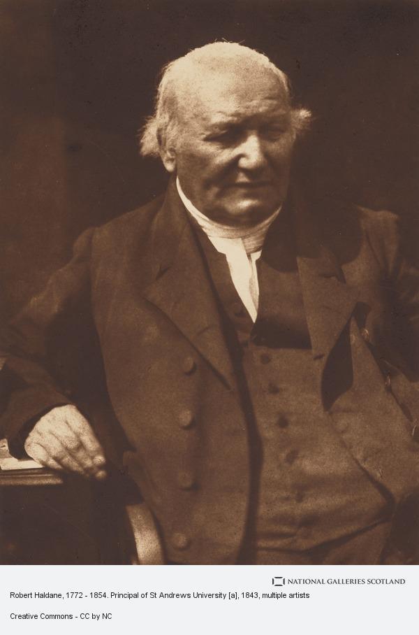 David Octavius Hill, Robert Haldane, 1772 - 1854. Principal of St Andrews University [a]