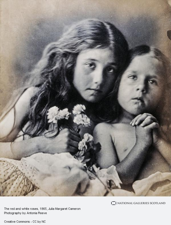 Julia Margaret Cameron, The red and white roses