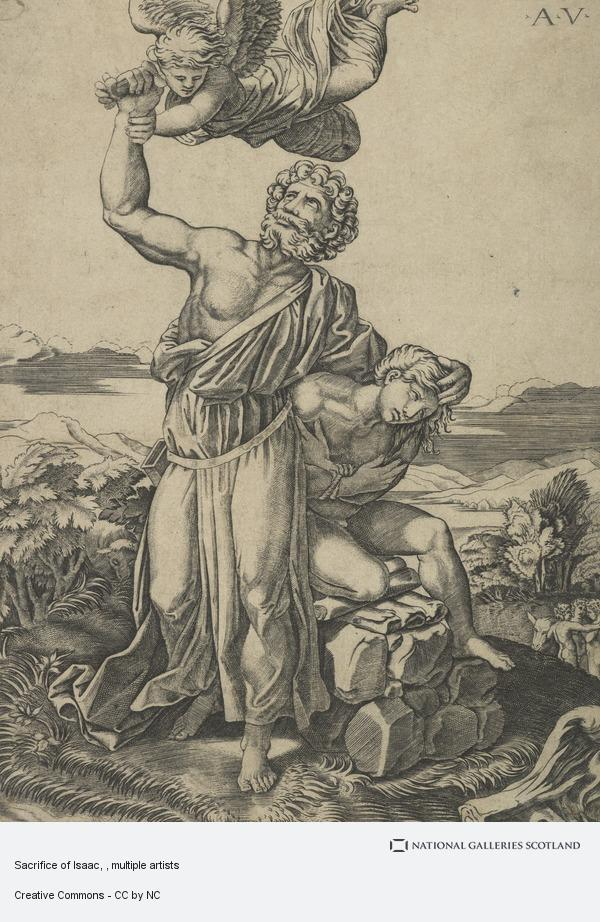Raphael (Raffaello Santi), Sacrifice of Isaac