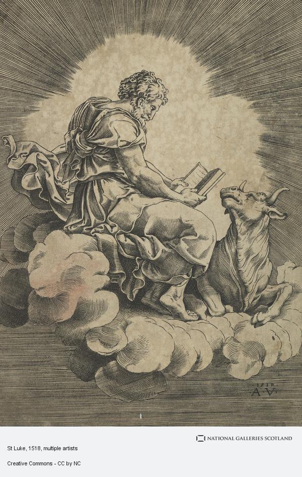 Giulio Romano (Giulio Pippi), St Luke
