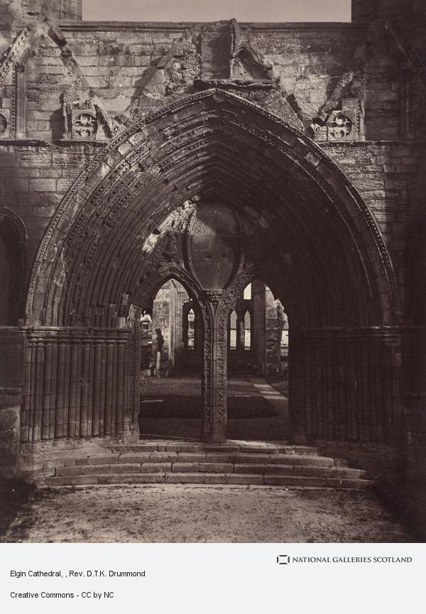 Rev. D.T.K. Drummond, Elgin Cathedral