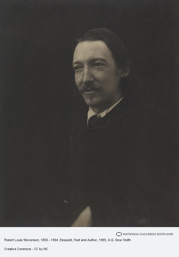 A.G. Dew Smith, Robert Louis Stevenson, 1850 - 1894. Essayist, Poet and Author (June 1885 (taken in Cambridge))