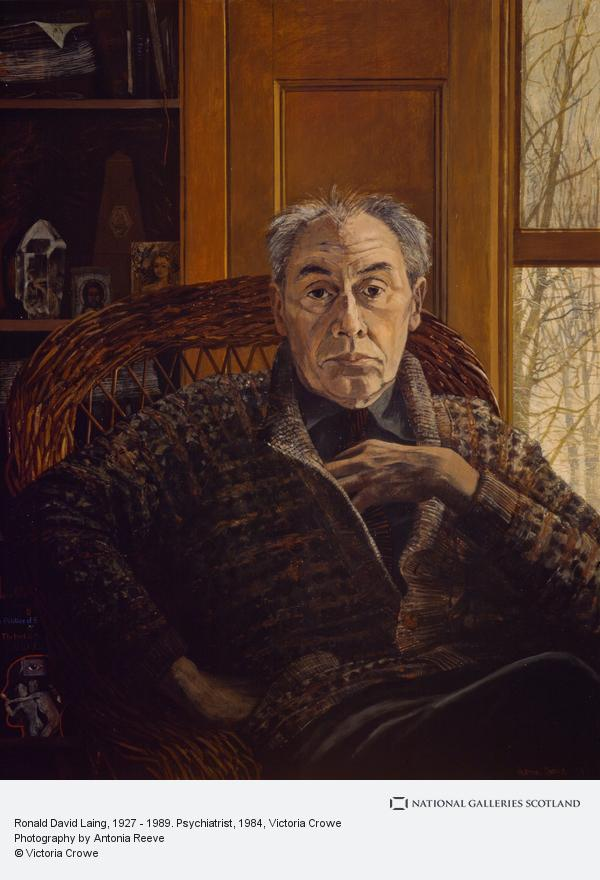 Victoria Crowe, Ronald David Laing, 1927 - 1989. Psychiatrist (1984)