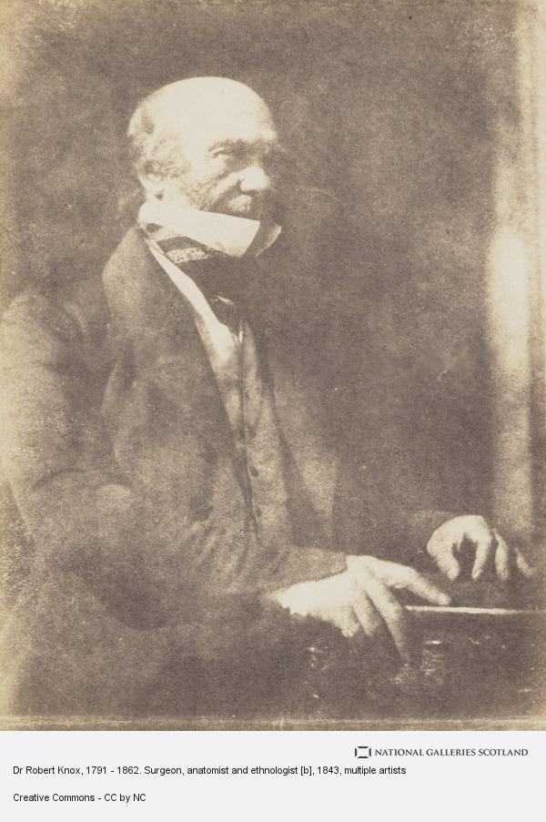 Robert Adamson, Dr Robert Knox, 1791 - 1862. Surgeon, anatomist and ethnologist [b]