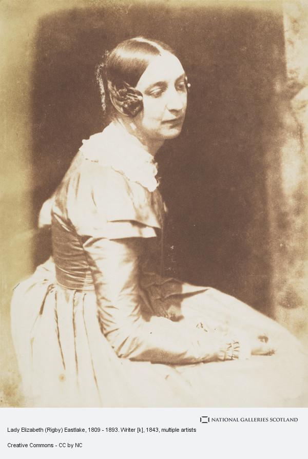 Robert Adamson, Lady Elizabeth (Rigby) Eastlake, 1809 - 1893. Writer [k]