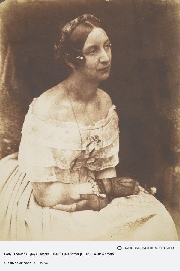 Robert Adamson, Lady Elizabeth (Rigby) Eastlake, 1809 - 1893. Writer [i]