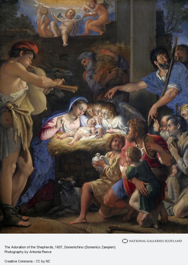 Domenico Zampieri, The Adoration of the Shepherds