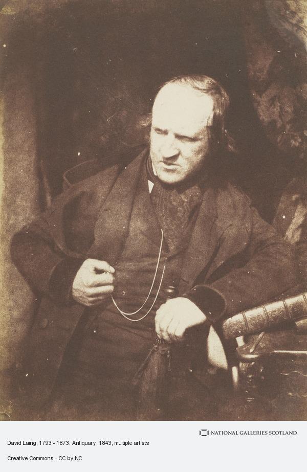 Robert Adamson, David Laing, 1793 - 1873. Antiquary