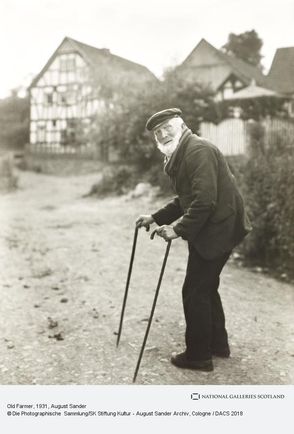 August Sander, Old Farmer, 1931-2 (1931 - 1932)