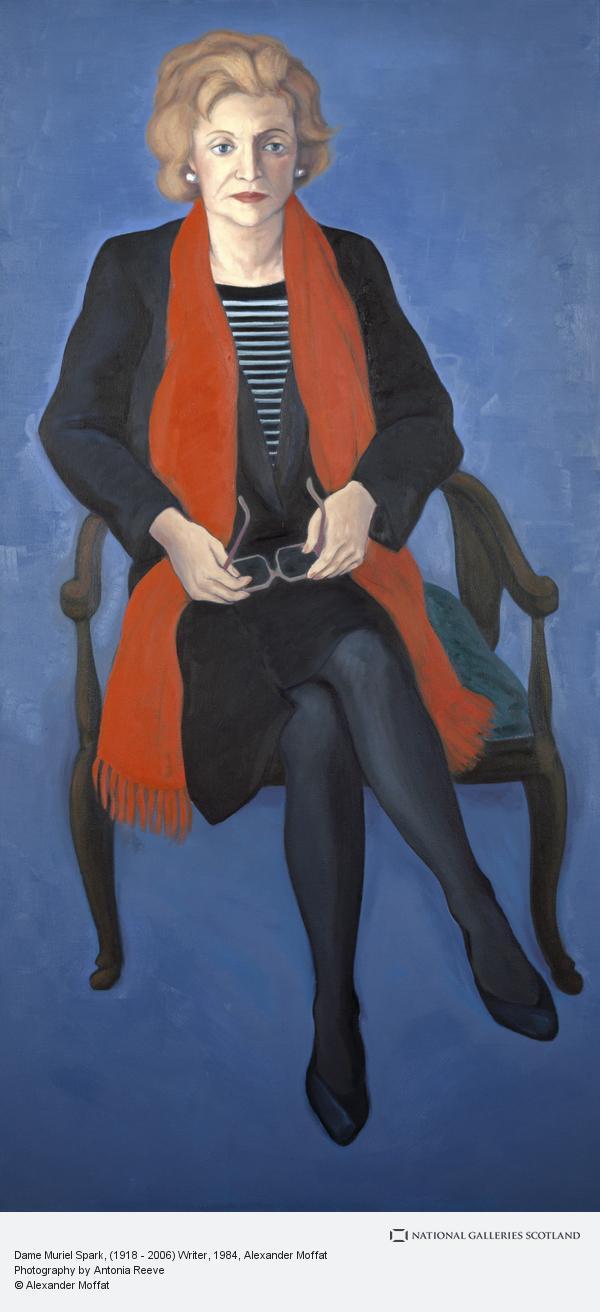 Alexander (Sandy) Moffat, Dame Muriel Spark, (1918 - 2006) Writer (1984)
