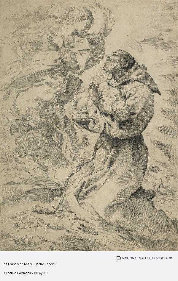 Pietro Faccini, St Francis of Assisi