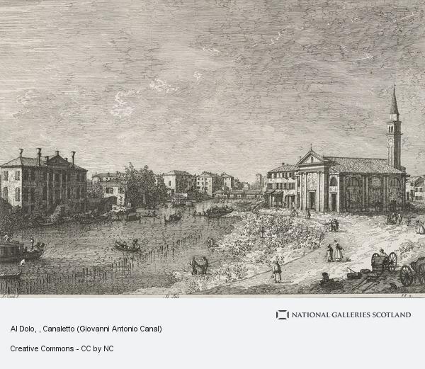Canaletto (Giovanni Antonio Canal), Al Dolo