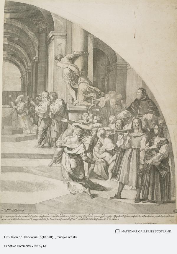 Carlo Maratta, Expulsion of Heliodorus (right half)