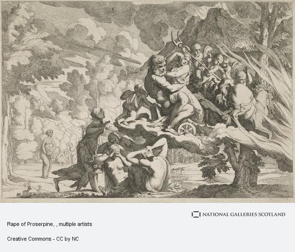 Giovanni Cesare Testa, Rape of Proserpine
