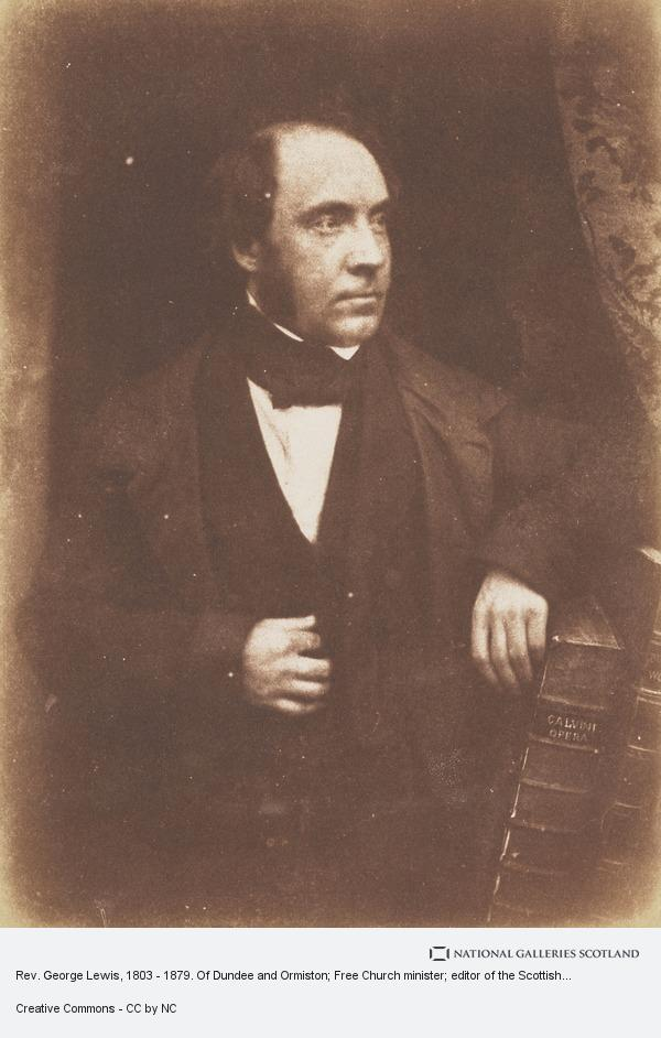 Robert Adamson, Rev. George Lewis, 1803 - 1879. Of Dundee and Ormiston; Free Church minister; editor of the Scottish Guardian [a]