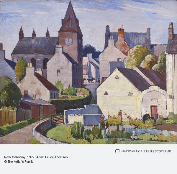 Adam Bruce Thomson, New Galloway