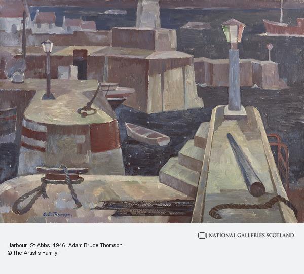 Adam Bruce Thomson, Harbour, St Abbs