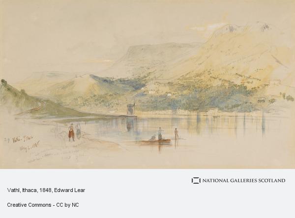 Edward Lear, Vathl, Ithaca