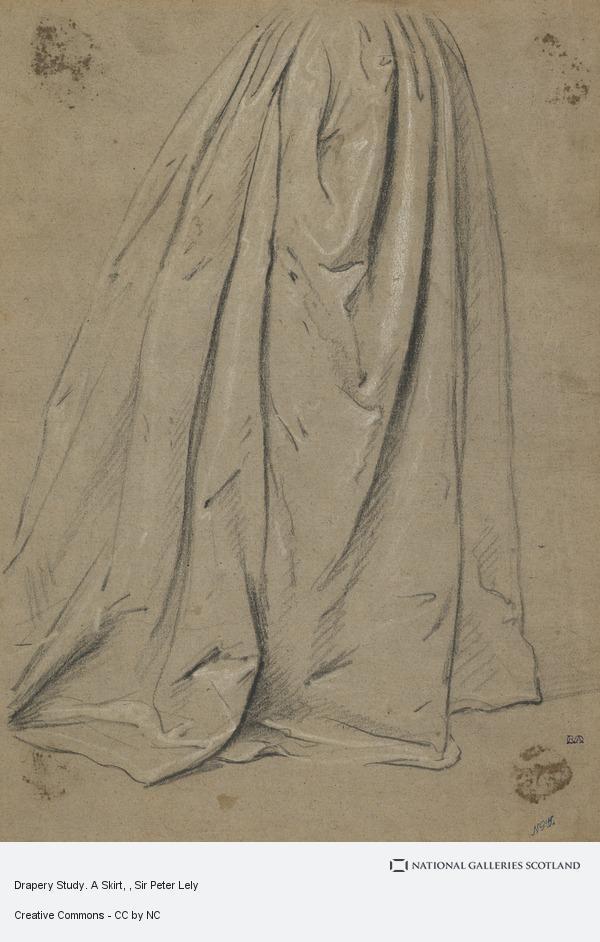 Sir Peter Lely, Drapery Study. A Skirt