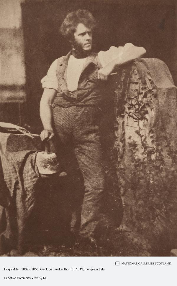 Robert Adamson, Hugh Miller, 1802 - 1856. Geologist and author [c]