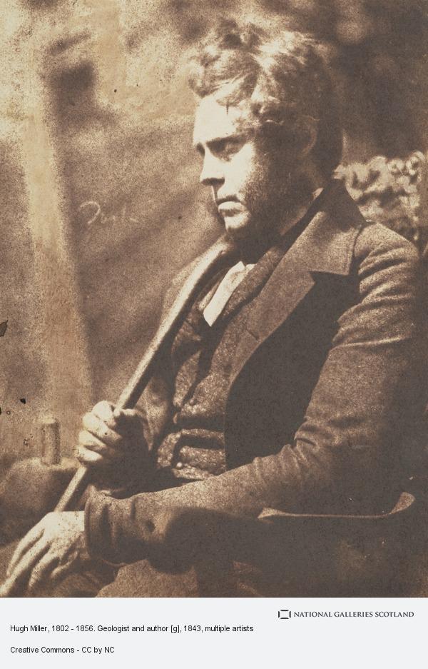 Robert Adamson, Hugh Miller, 1802 - 1856. Geologist and author[g]