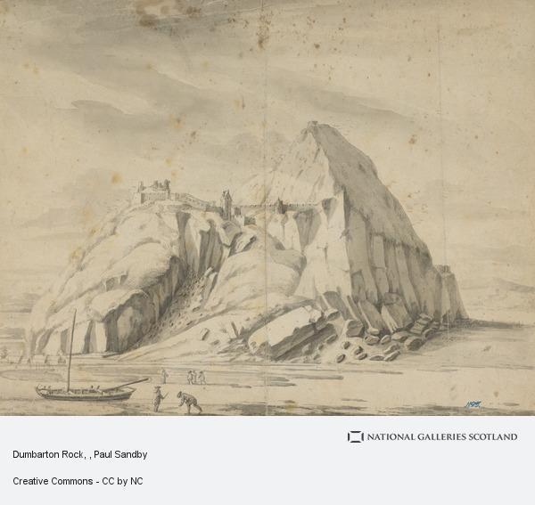 Paul Sandby, Dumbarton Rock