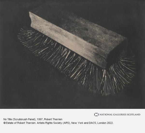 Robert Therrien, No Title (Scrubbrush Panel) (1997)