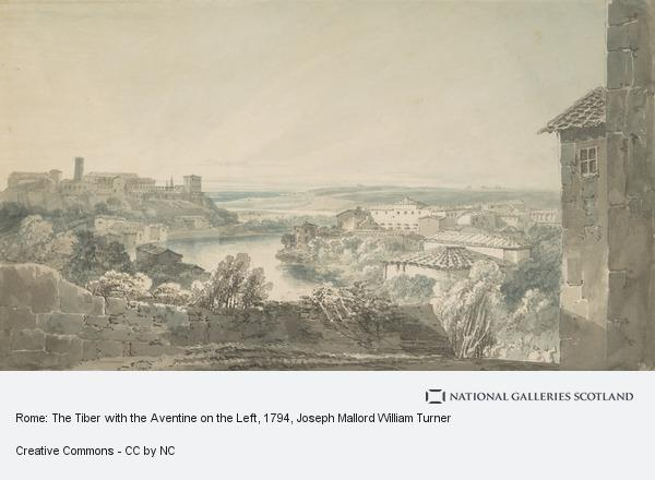 Joseph Mallord William Turner, Rome: The Tiber with the Aventine on the Left