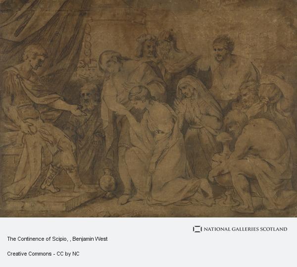 Benjamin West, The Continence of Scipio