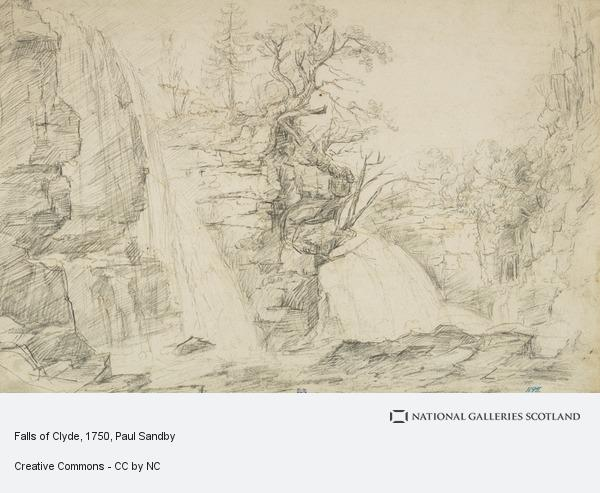 Paul Sandby, Falls of Clyde
