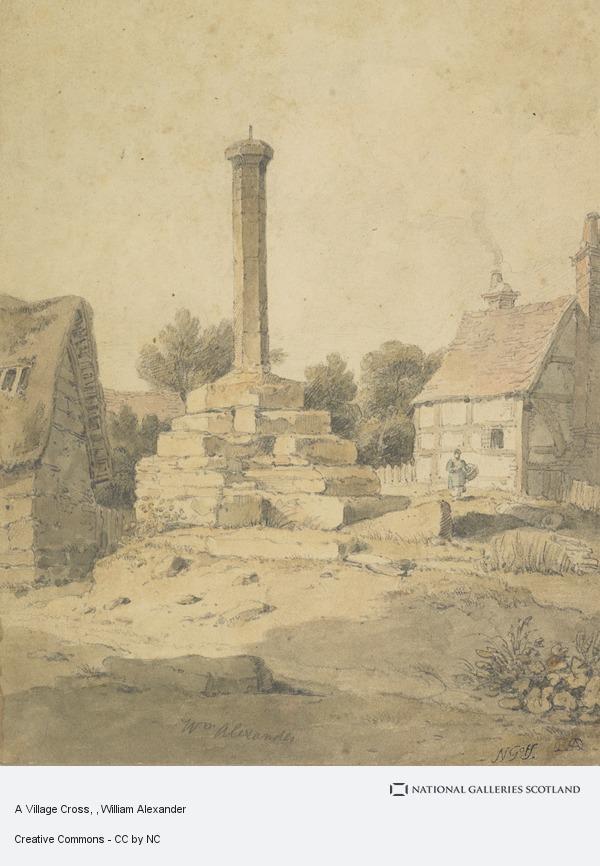 William Alexander, A Village Cross