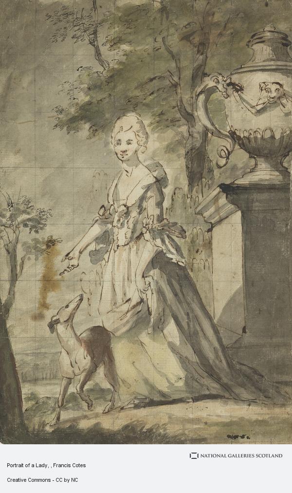 Francis Cotes, Portrait of a Lady