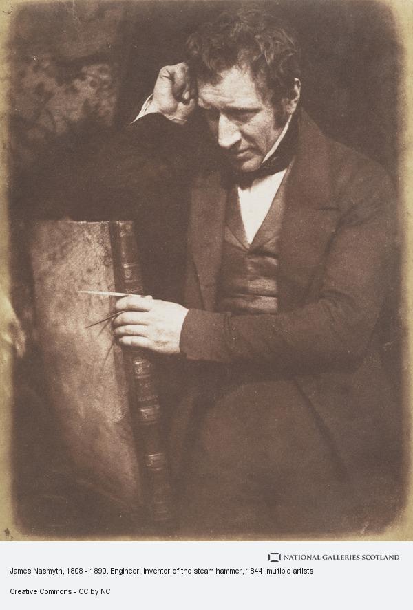 Robert Adamson, James Nasmyth, 1808 - 1890. Engineer; inventor of the steam hammer