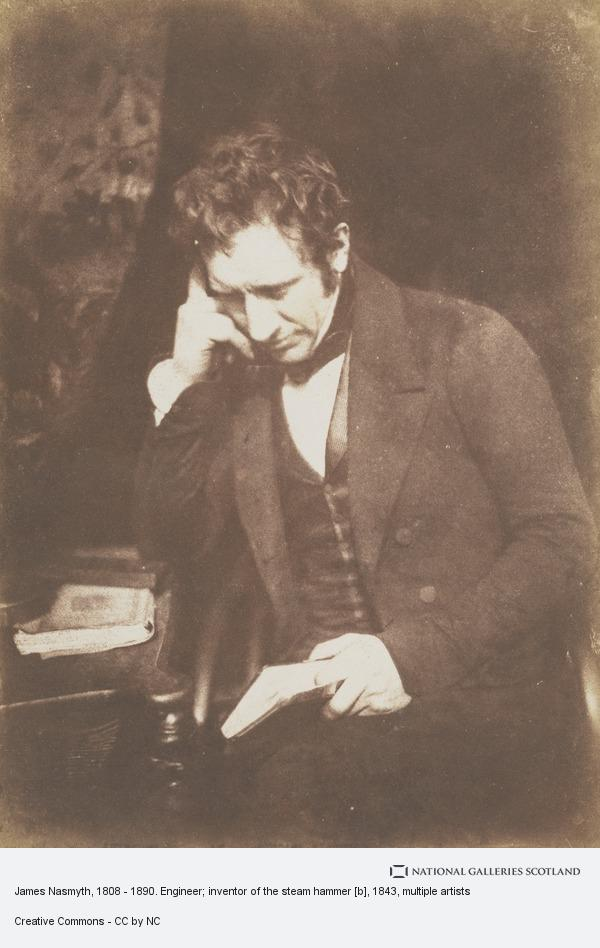 Robert Adamson, James Nasmyth, 1808 - 1890. Engineer; inventor of the steam hammer [b]