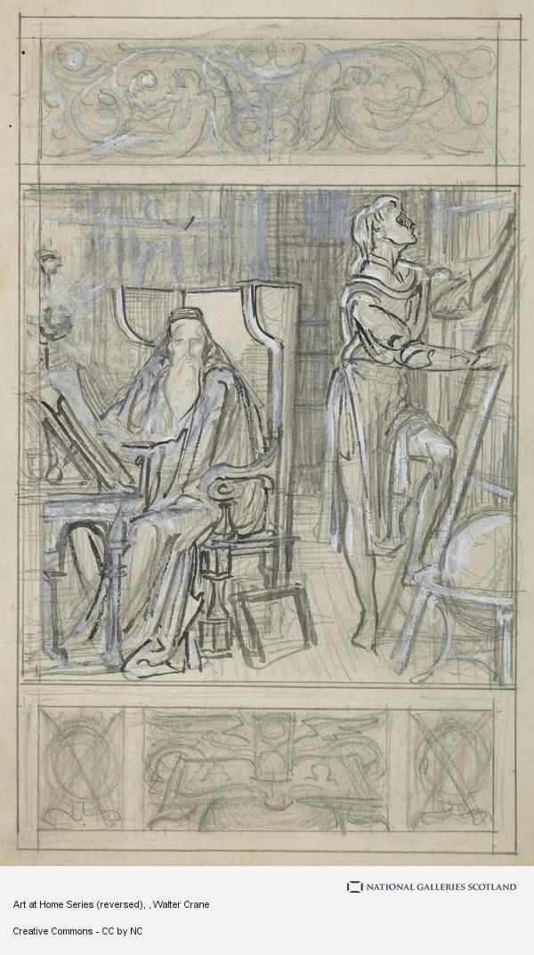 Walter Crane, Art at Home Series (reversed)