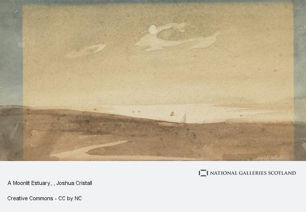 Joshua Cristall, A Moonlit Estuary