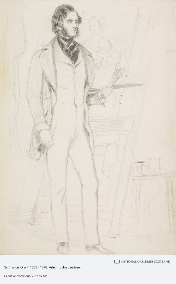 John Landseer, Sir Francis Grant, 1803 - 1878. Artist