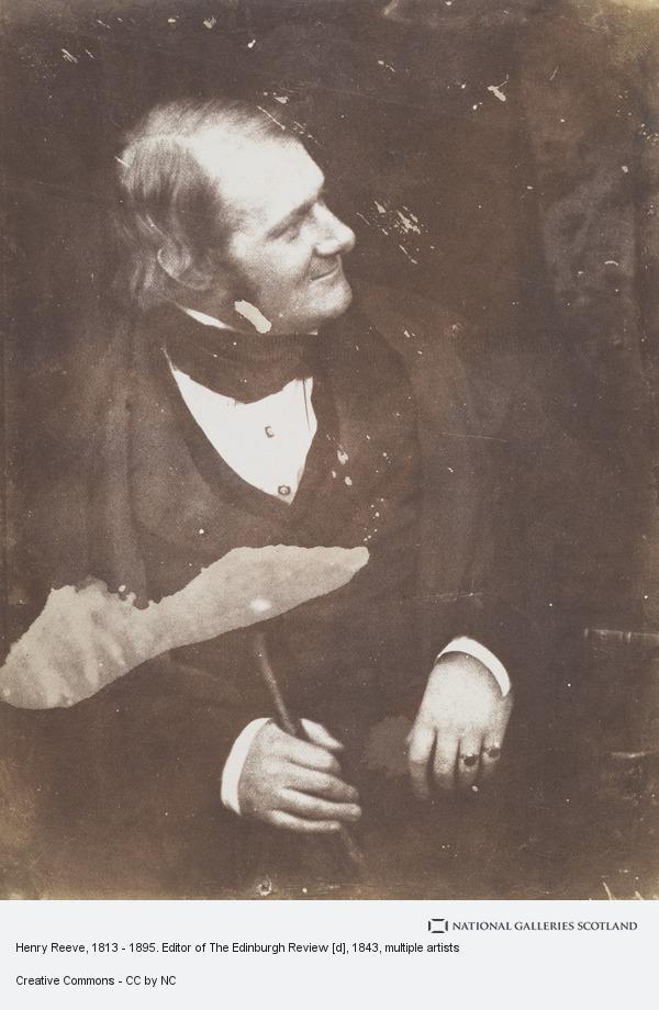 Robert Adamson, Henry Reeve, 1813 - 1895. Editor of The Edinburgh Review [d]