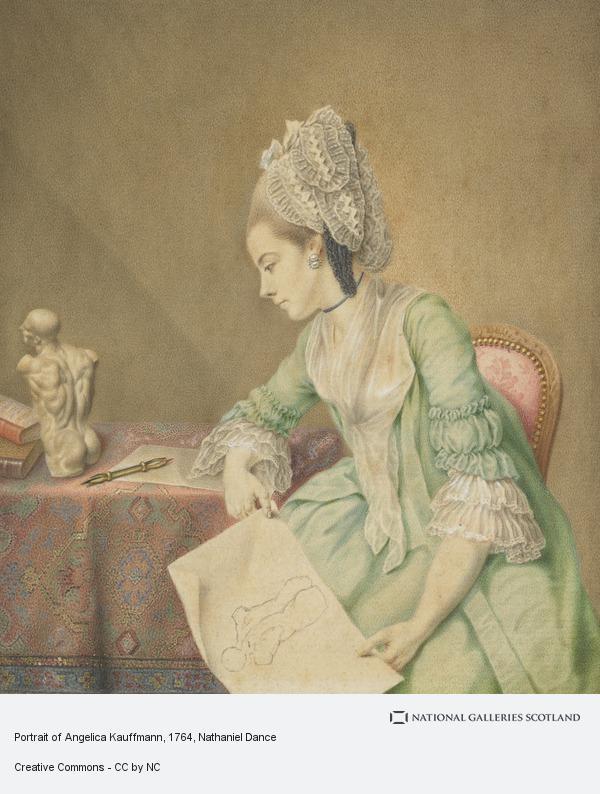 Nathaniel Dance, Portrait of Angelica Kauffmann